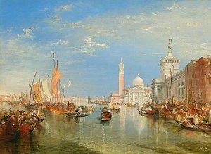 The Dogana and San Giorgio Maggiore, 1834