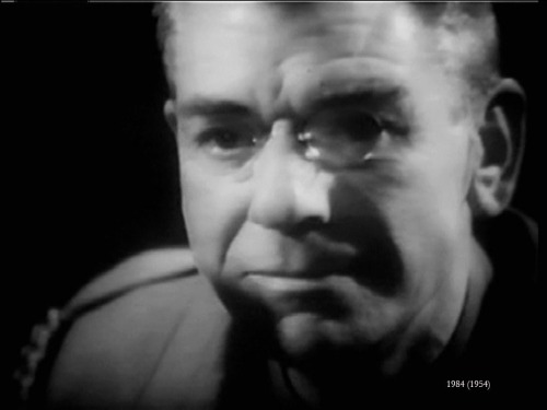 Andre Morell as O'Brien - Richard Burton go home, your time is up!