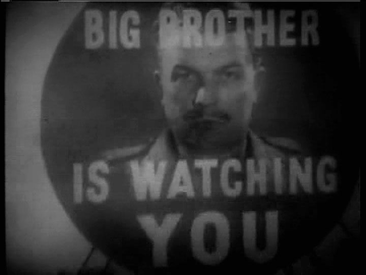 The use of telescreens in 1984 by george orwell