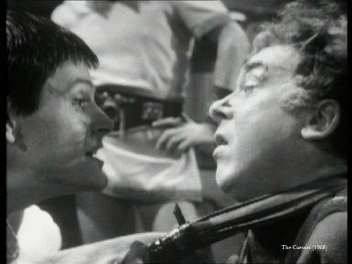 Ralph Bates' Caligula tries to make Freddie Jones' Claudius see his point