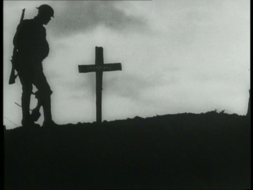 The iconic silhouette from the opening credits