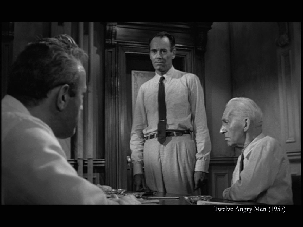 12 angry men movie book analyisis The defense and the prosecution have rested and the jury is filing into the jury room to decide if a young spanish-american is guilty or innocent of murdering his father.