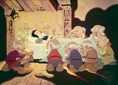 The and dwarfs white seven snow disney
