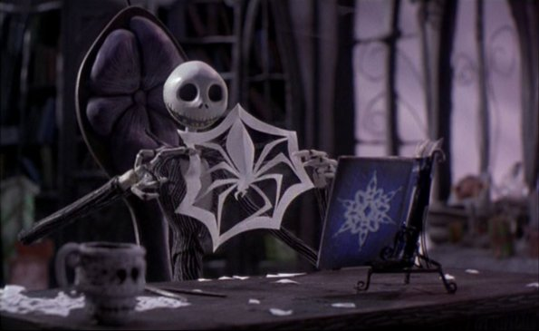 was the nightmare before christmas claymation