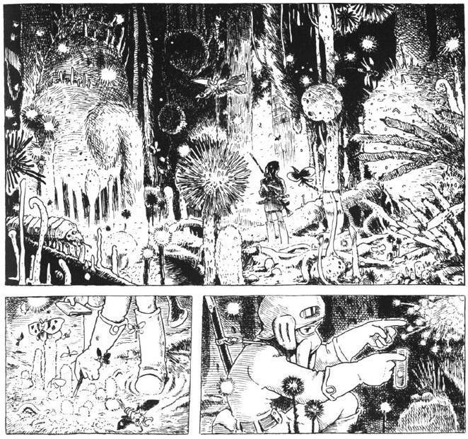 """Résultat de recherche d'images pour """"nausicaa manga"""""""