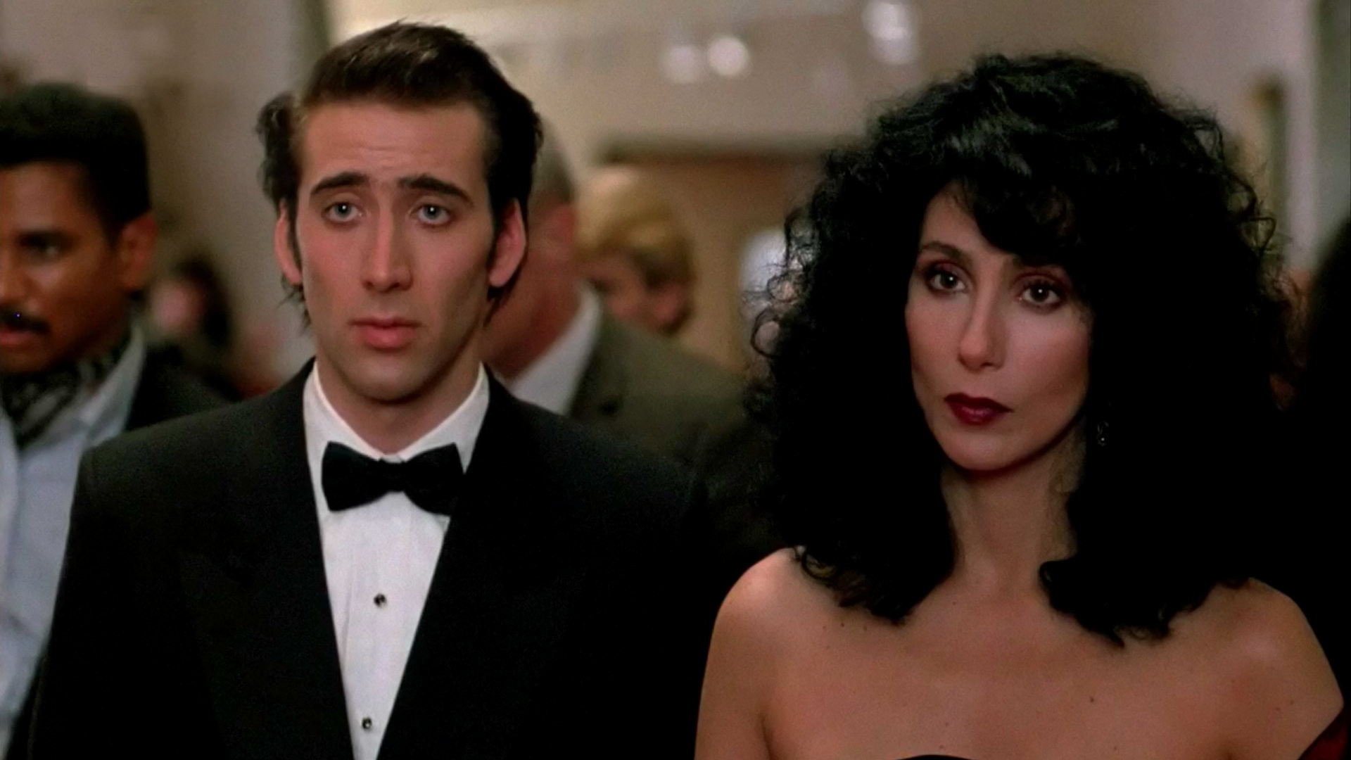 The cast in the movie moonstruck