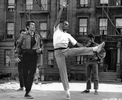 an analysis of west side story by jerome robbins West side story took broadway by storm in 1957, when it ushered in a new era in musical theater jerome robbins had the idea to update romeo and juliet , setting it in modern-day new york, and he engaged composer leonard bernstein, playwright arthur laurents, and lyricist stephen sondheim as collaborators.