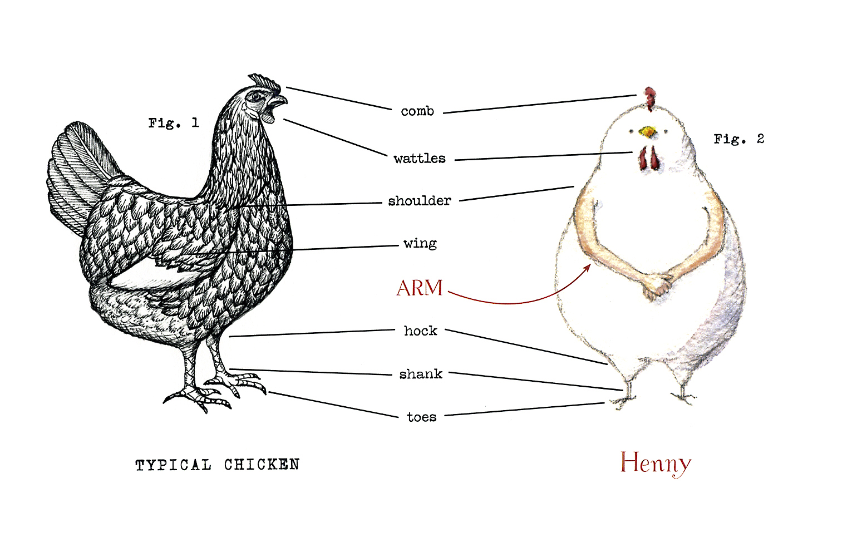 Caldecott Medal Contender: Henny | Wonders in the Dark