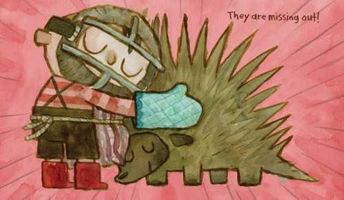 hug porcupine