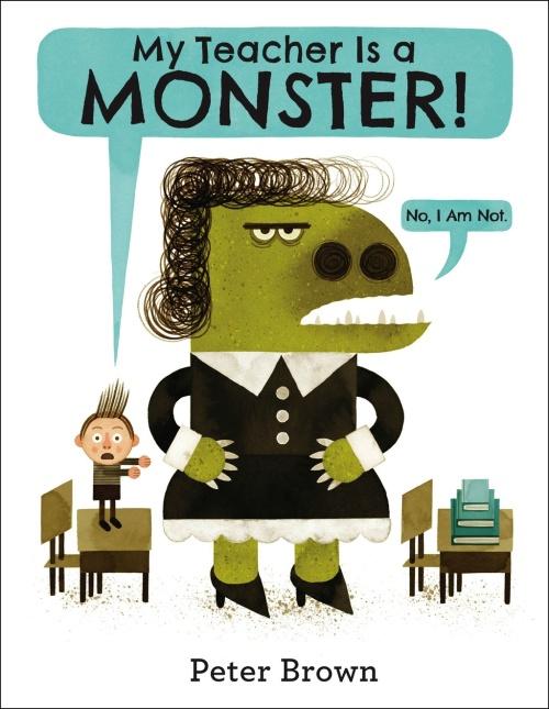 teacher monster cover