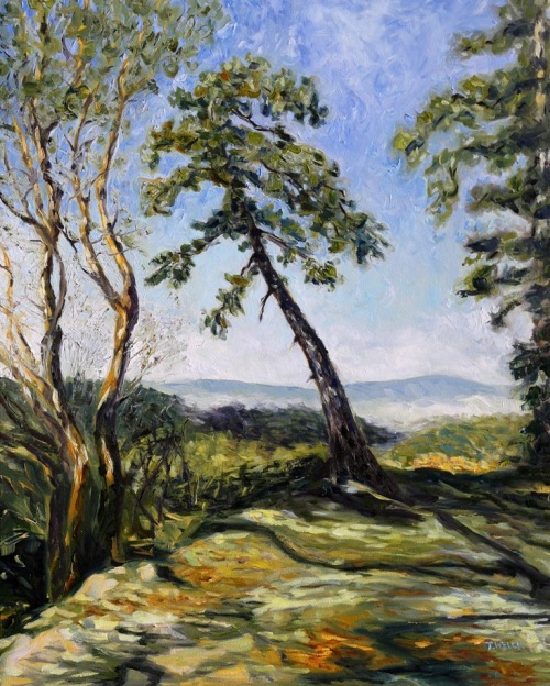 7787097_Trail_Along_the_Ridge_30_x_24_inch_oil_on_canvas_by_Canadian_landscape_painter_Terrill_Welch_2014_11_26_016