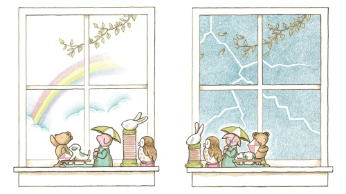 "In Kevin Henkes' new picture book, all of the figurines on the windowsill are waiting for something. ""It's really about the concept of waiting,"" he says."