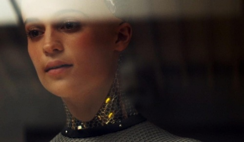 Alicia Vikander in 'Ex Machina' by Universal Studios.