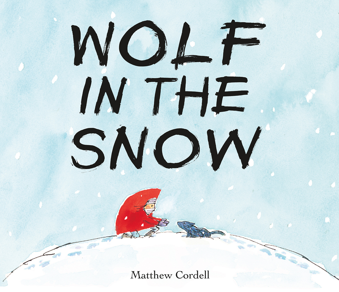 Image result for wolf in the snow caldecott picture
